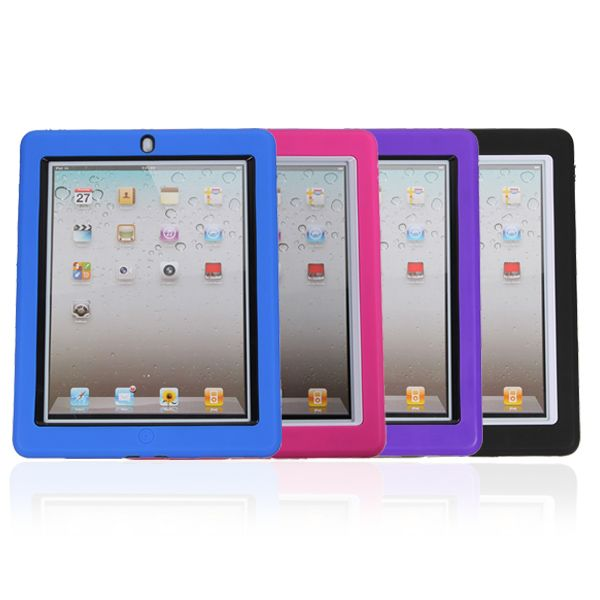 Professional Silicone Stand Case Clear Screen Protector