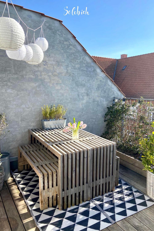 Schöne Ideen für deinen Balkon, dein Sommerwohnzimmer   Shabby ...