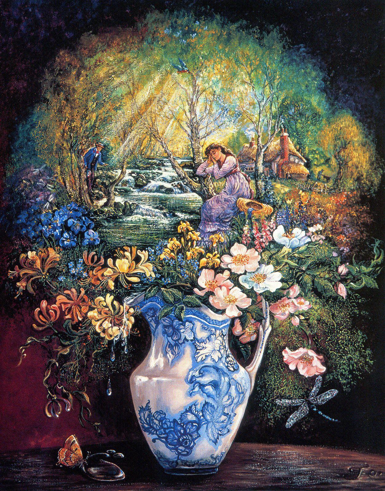 josephine_wall_fantasy-surrealism_the water jug.jpg (1254×1600)
