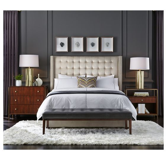 Luxury master bedrooms by famous interior designers Organisation chambre adulte