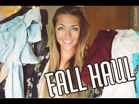 7b428ebfd89c HUGE Fall Haul!♡ Victoria's Secret, PacSun, Love Culture +MORE - YouTube