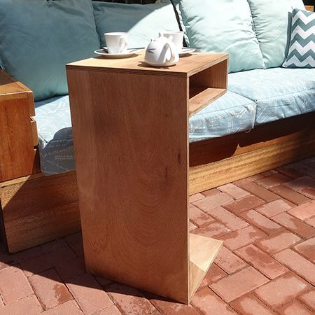 DIY Multi Purpose Outdoor Wood Table: Laptop Table, Tv Tray Or Coffee Table