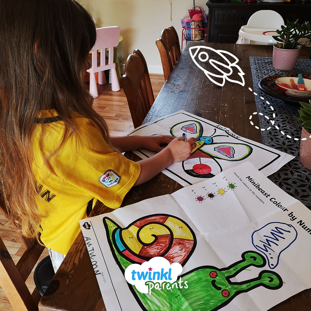 Colour By Numbers Worksheets Can Be A Great Way For