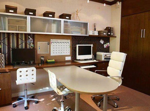 Aménagement bureau à domicile pratique exemples bureaus