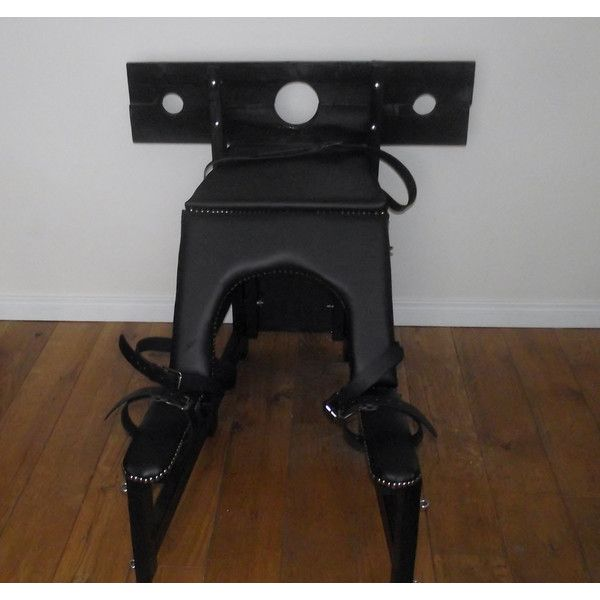 Bdsm Furniture Spanking Bench With Fetish Yoke Wooden Bondage Dungeon 425 Liked On