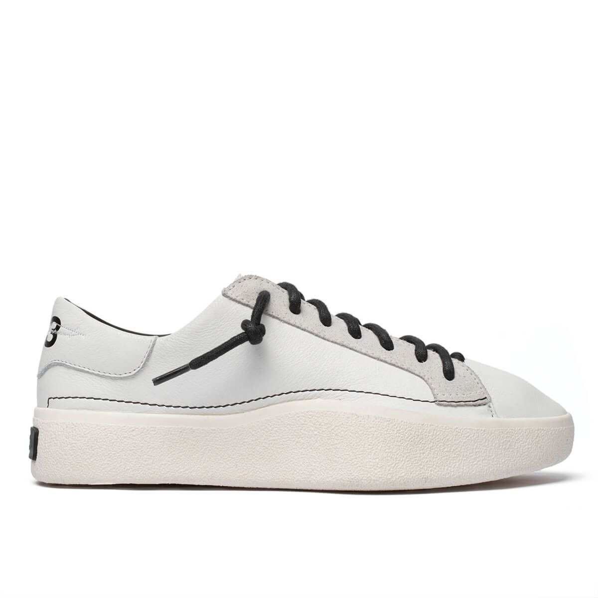 1f5b8224c Tangutsu Lace sneakers from the Pre-Fall 2018 Y-3 by Yohji Yamamoto  collection in white