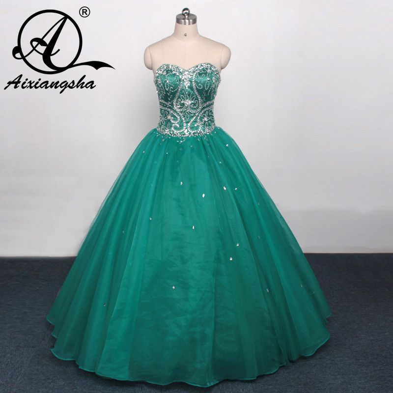 62f321f4ee2 Click to Buy    2017 Mint Green Tulle with Beads Appliques Quinceanera  Dresses Ball Gown Pageant Girls Formal Gowns dress for 15 years dress   Affiliate