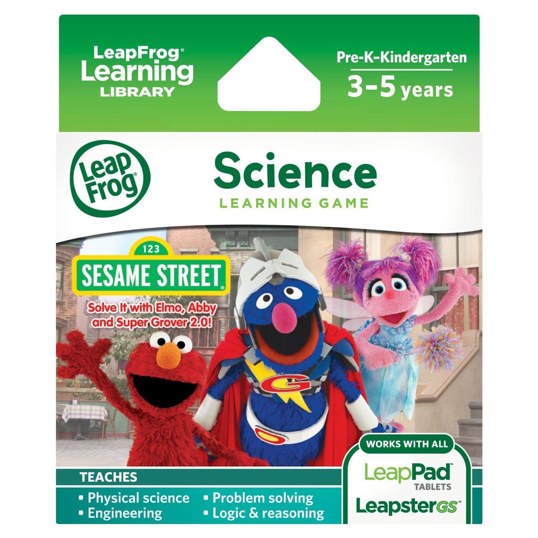 LeapFrog Learning Game Sesame Street Solve it