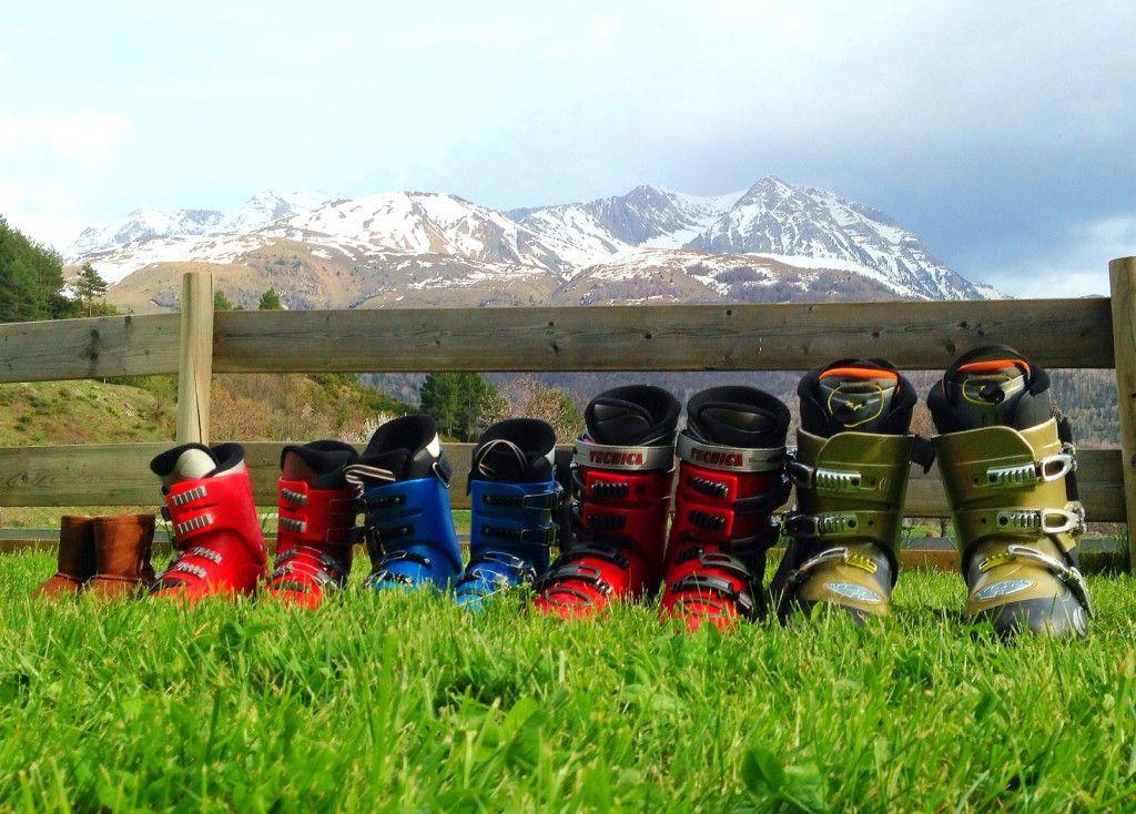 SKIING: Family activity in the MOUNTAINS.   El ESQUÍ: actividad en FAMILIA en la montaña – Babyecochic.com