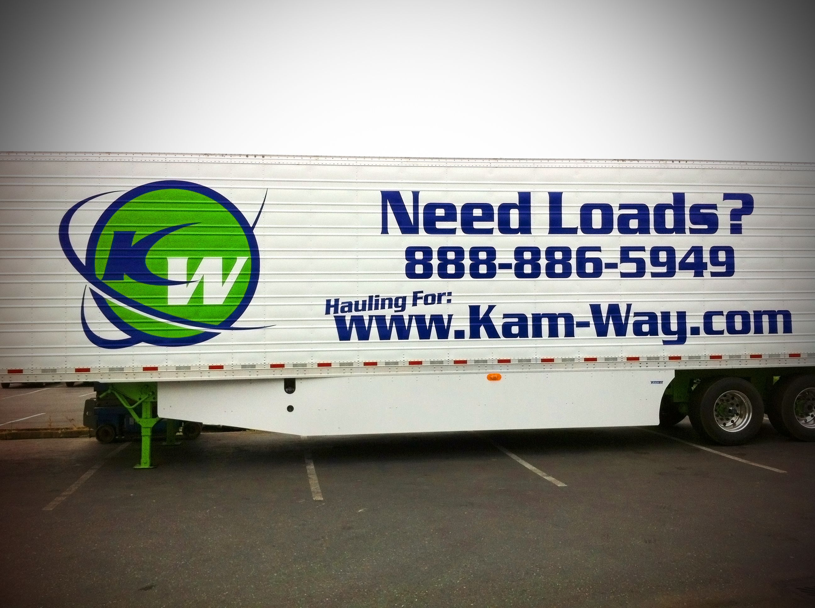 Oh Yeah! Did I mention we do SemiTruck as well!! KamWay