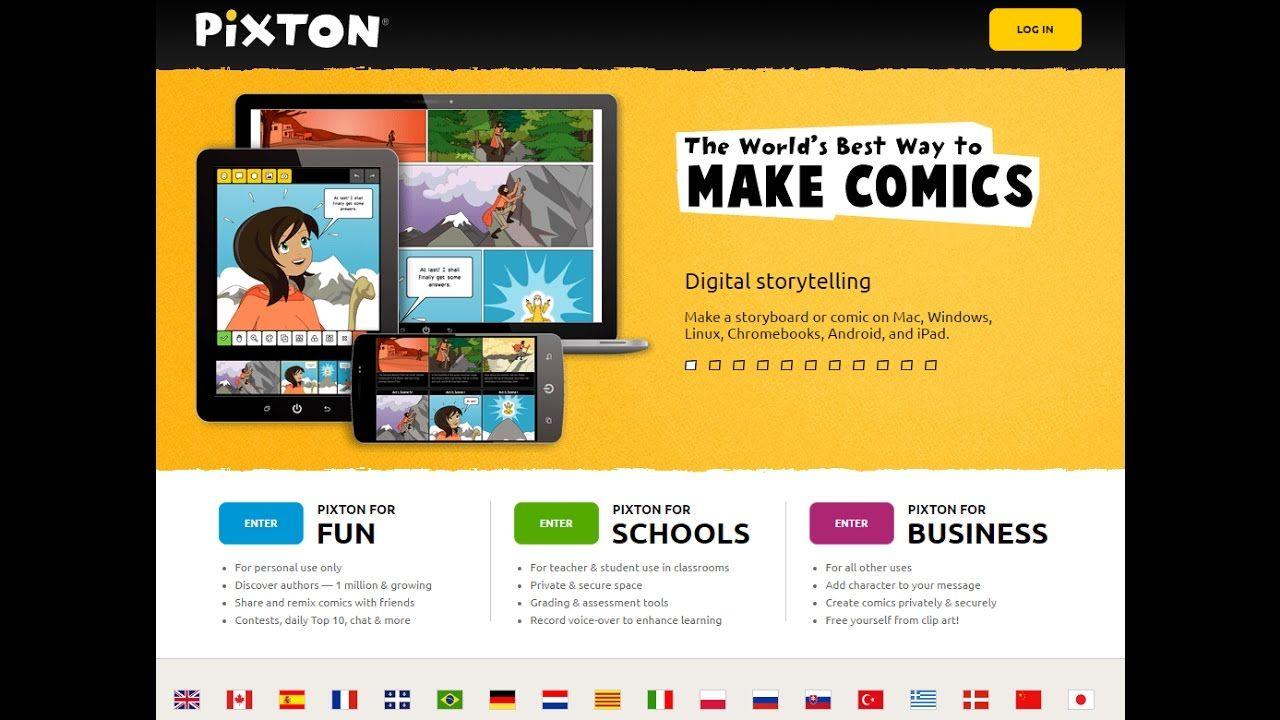 How to create simple comics on Pixton com | Techie Teacher
