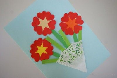 Laurka Na Dzien Mamy Mothers Day Crafts Crafts For Kids Crafts