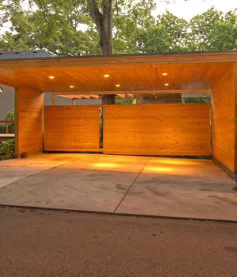 Image Result For Carport Under Modern House: Pin By Romas On Pavesynes Ir Stogines In 2019