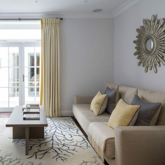 1001 + Ideen für Wandgestaltung für Wohnzimmer | Neutrale ...