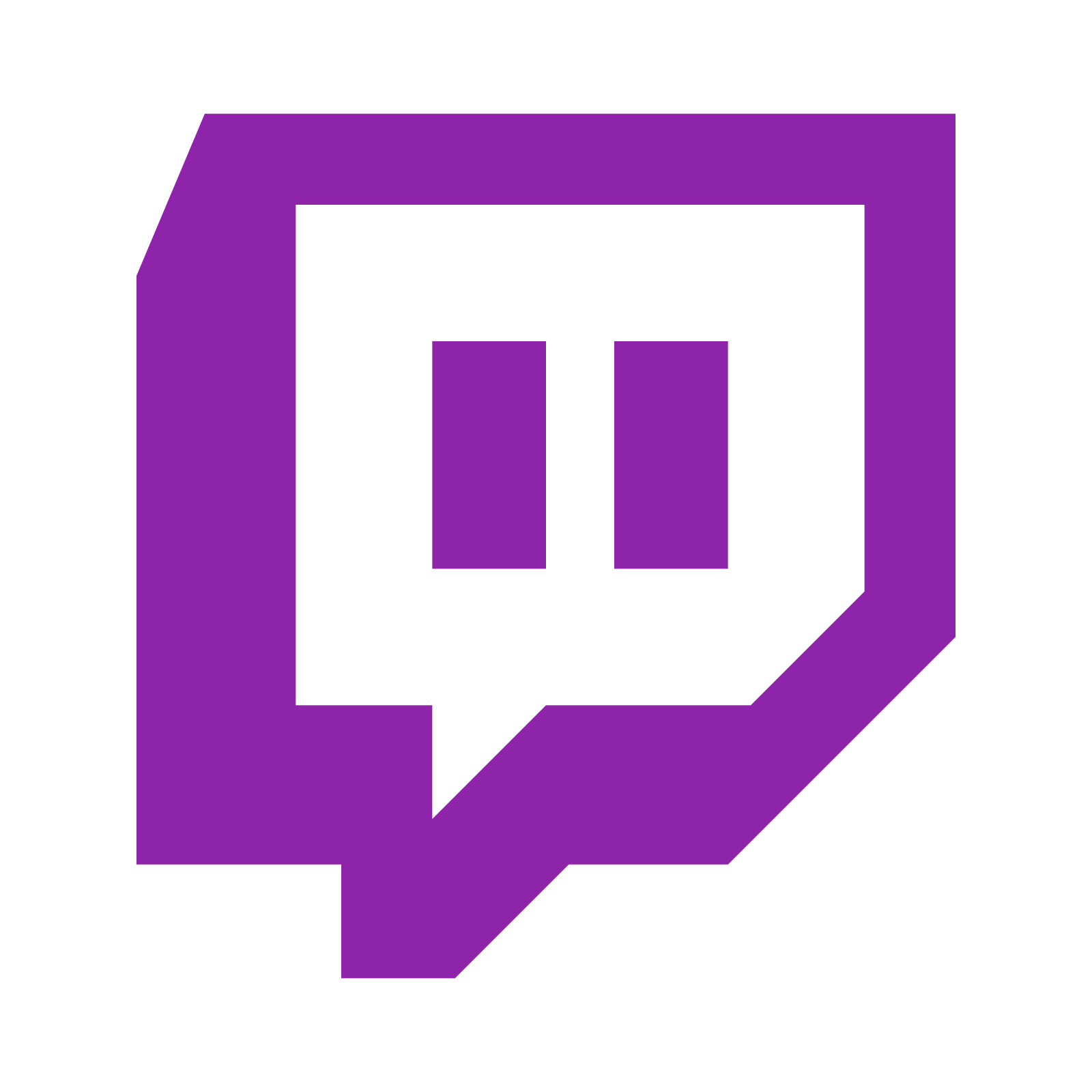twitch logo vector png   Twitch, Logos, Free social media ...