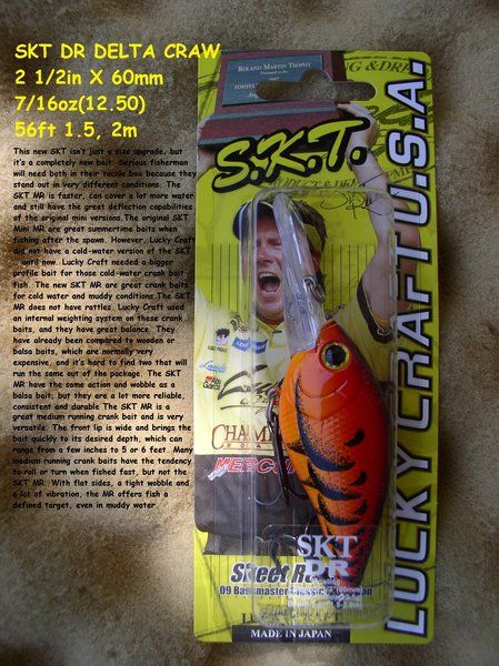 LUCKY CRAFT S.K.T. MR DELTA CRAW 7/16oz 5-6ft