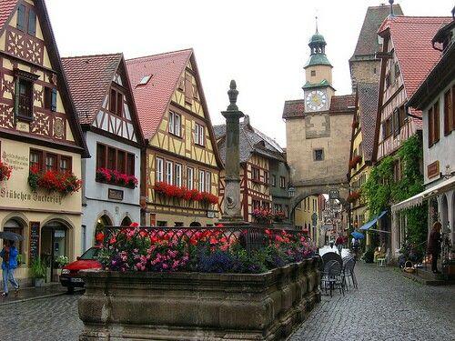 Beautiful Europe (Rothenburg ob der Tauber)