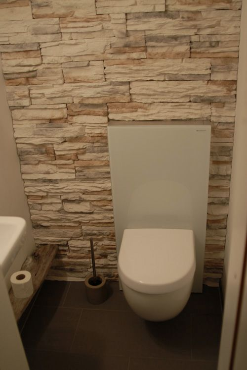 Gäste-WC-Idee | Bathroom ideas | Pinterest | Gäste wc ideen, Gäste ...