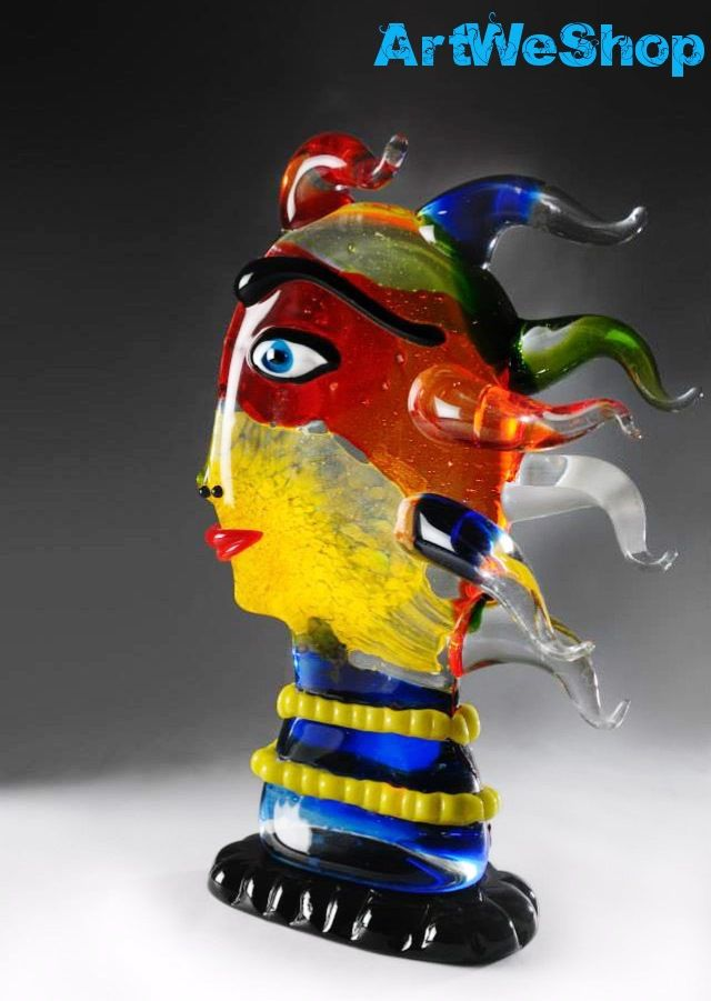 Certified Handmade Italian Art Glass from Murano. Exclusive Art for Home Decor in stock at artweshop.com