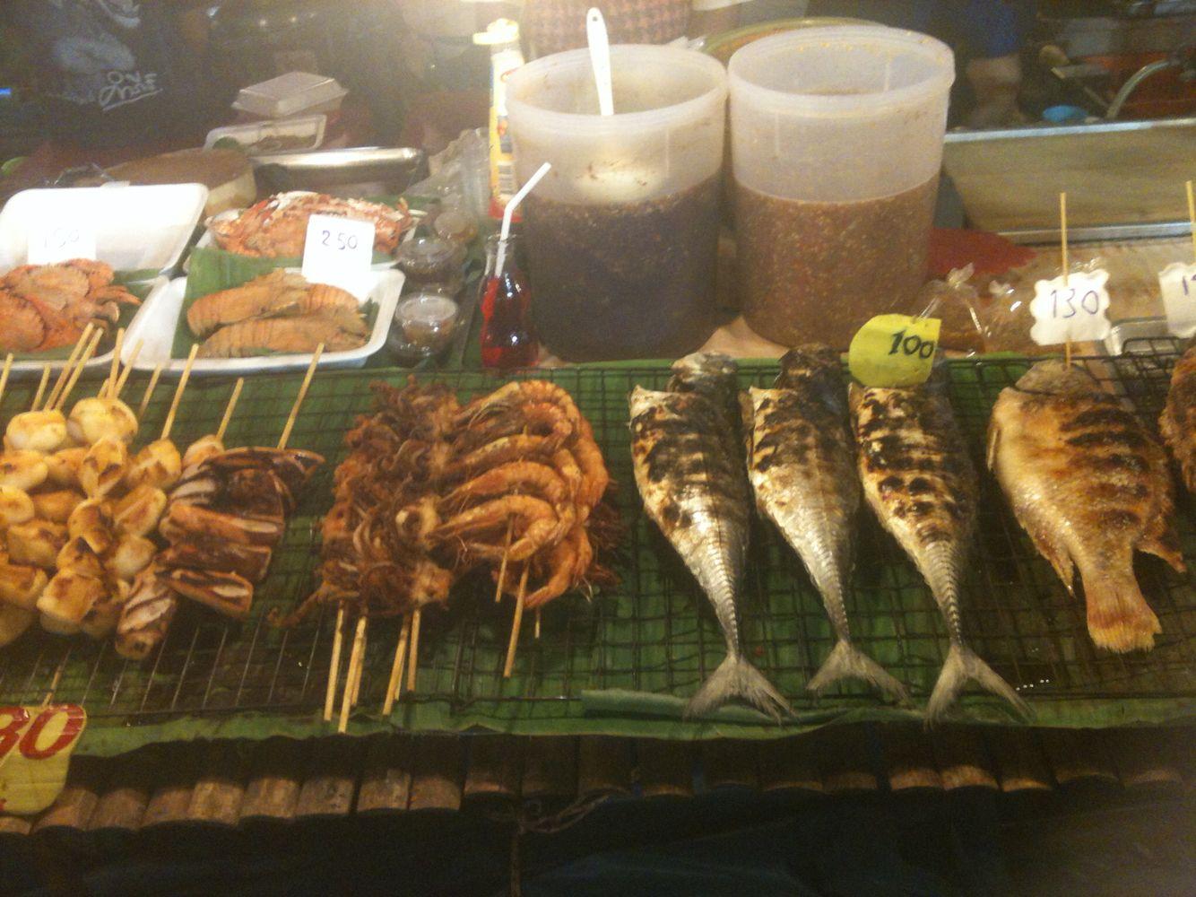 Fish market, Rawaï, Thailand