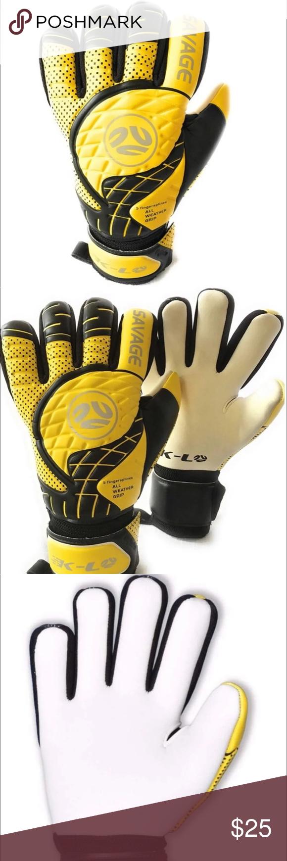 Goalkeeper Anti Slip Training Gloves Breathable Training Gloves Football Kids Goalkeeper