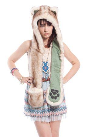 Brown Husky by Spirit Hoods