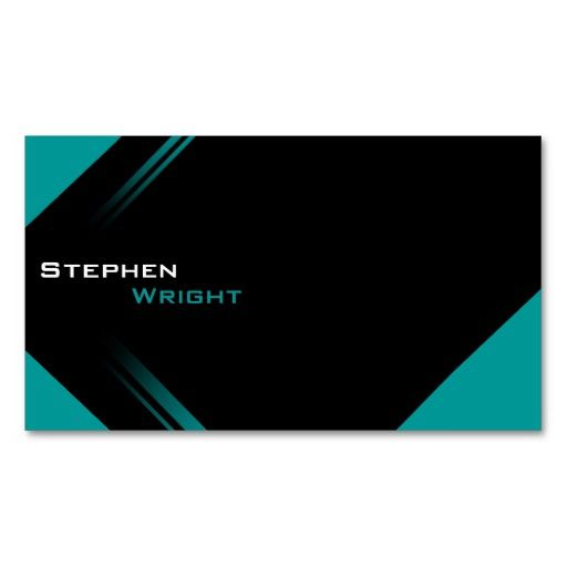 Modern Trendy Color Change Business Card