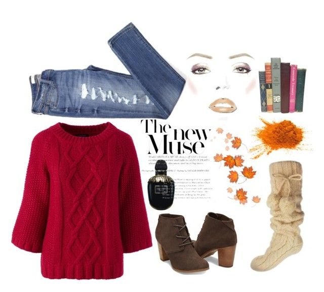 """""""Untitled #194"""" by ivy-ivova ❤ liked on Polyvore featuring Lands' End and Alexander McQueen"""