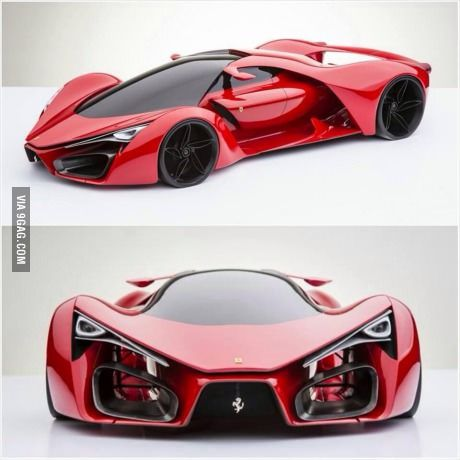 The new Ferrari Concept... #newferrari