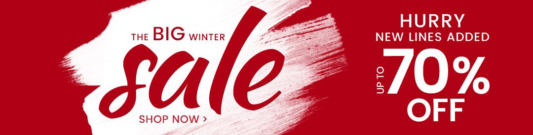 Winter Sale Banners Turquoise Watercolor Banners