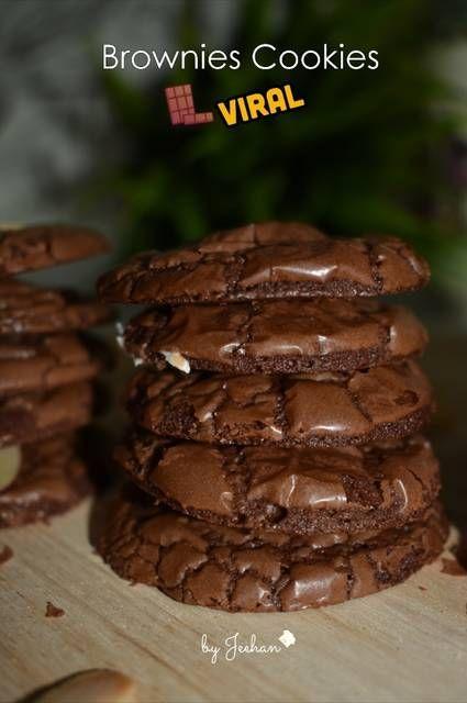 Resep Brownies Cookies Viral Oleh Mommy Nawla Jeehan Resep Makanan Manis Resep Biskuit Makanan
