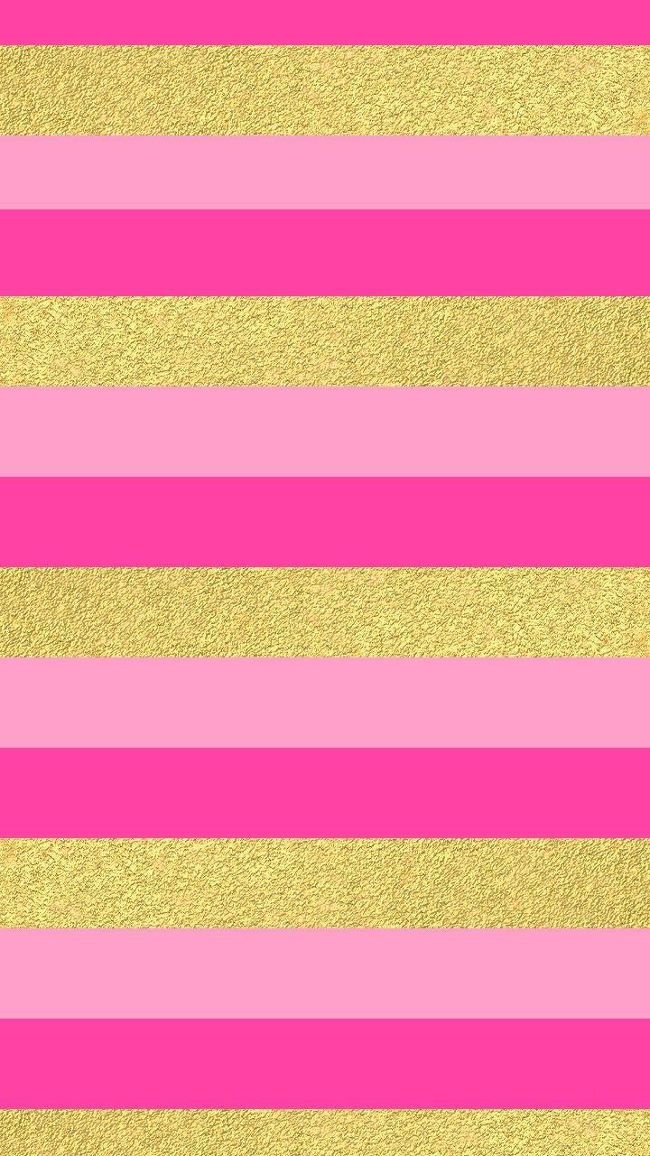 HASHTAGS gold pink fuschia stripes glitter