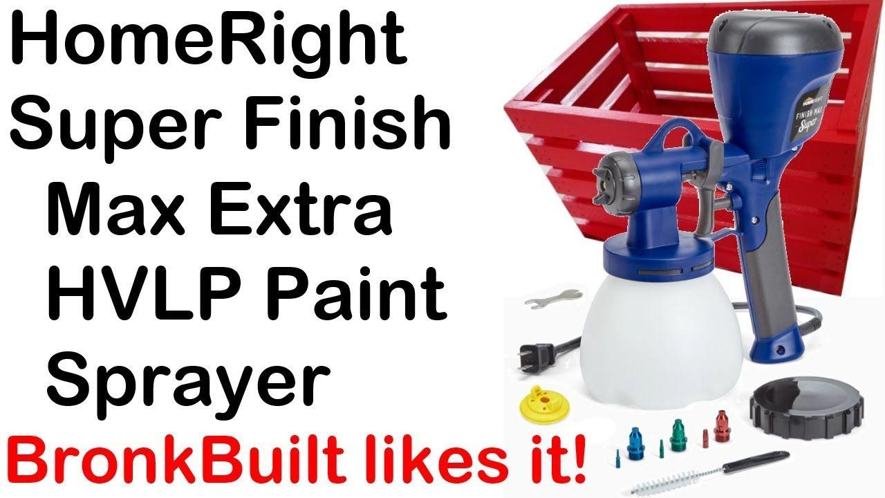 Homeright Super Finish Max Extra Hvlp Paint Sprayer