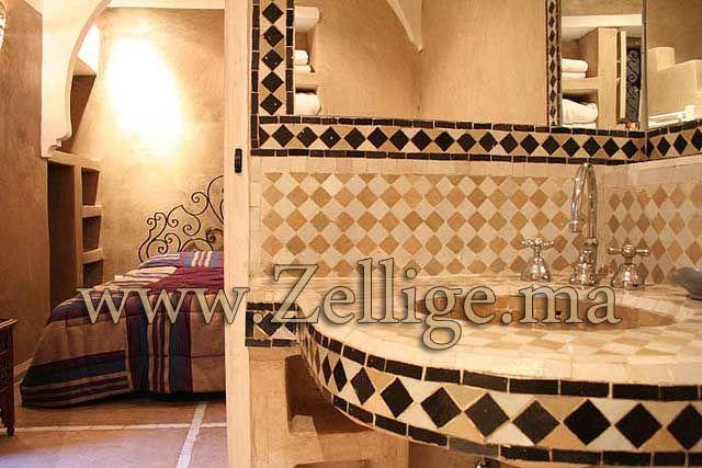 Stunning Salle De Bain Marocaine Zellige Ideas - Home Ideas 2018 ...