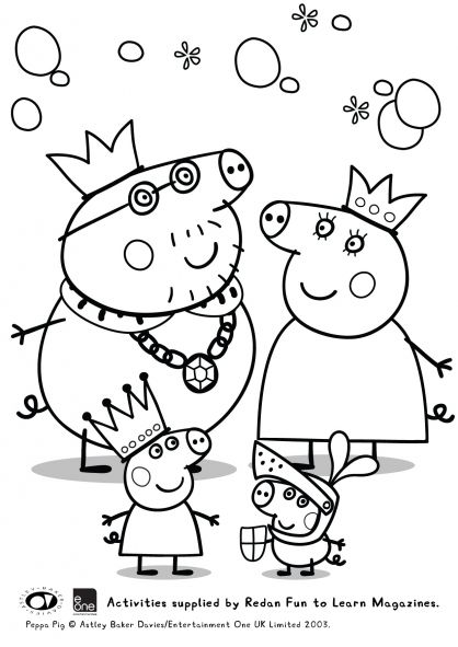 Coloriage Peppa Pig à colorier - Dessin à imprimer | card ideas ...