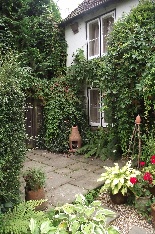 Englisches Cottage cottage uk gärten