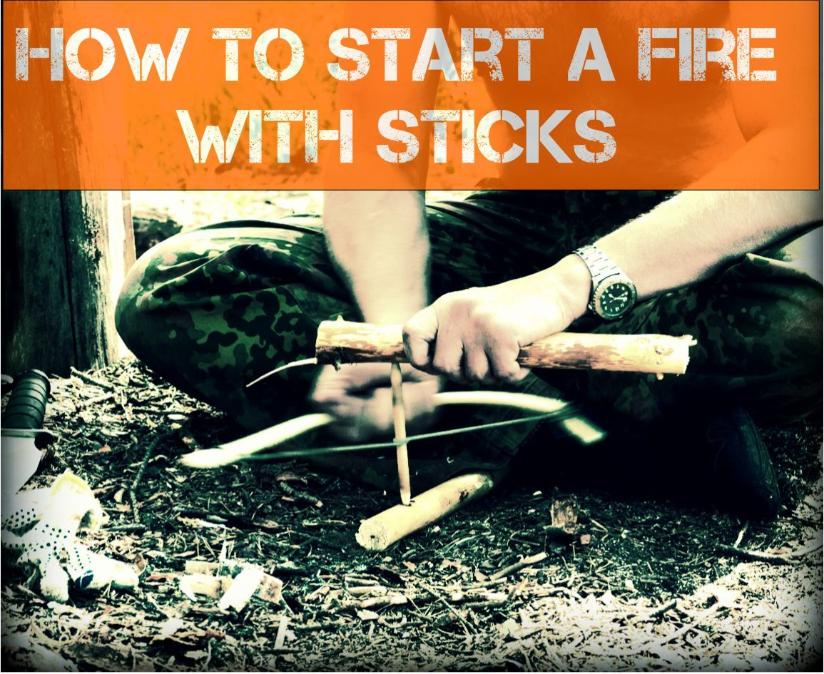 If you are camping or hiking or a serious survivalist
