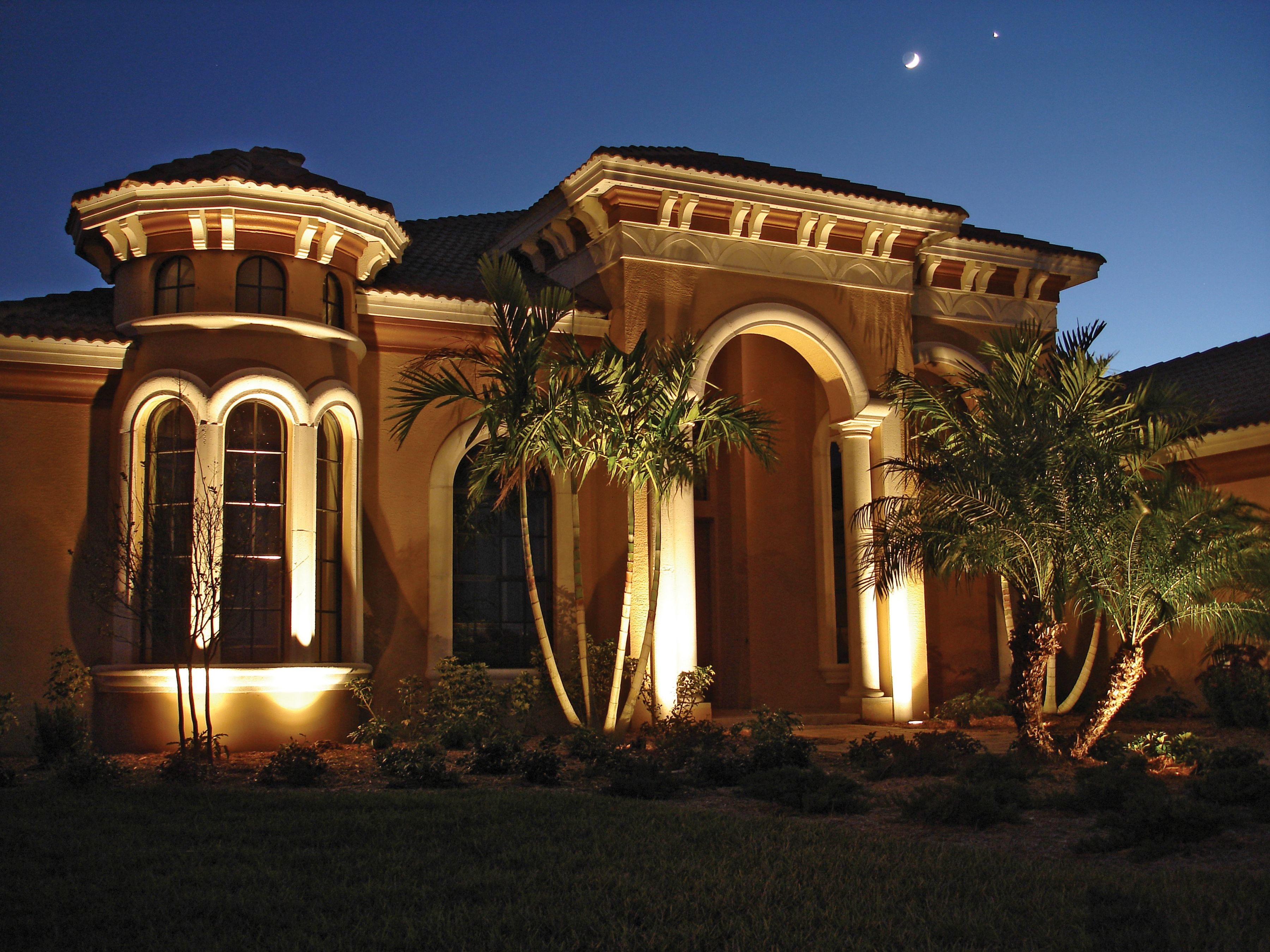 Outdoor Lighting Helps Your House Look Its Best At Night Outdoor Lighting Curb Appeal Landscape Lighting