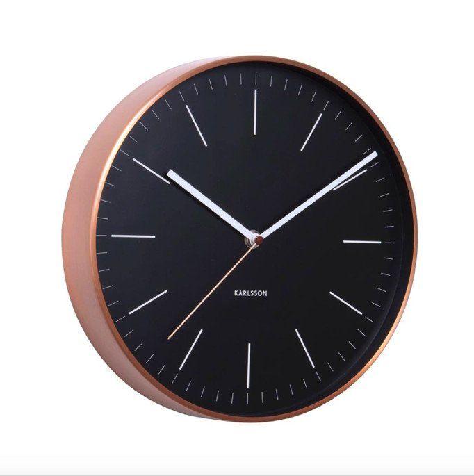 Minimal Wall Copper Clock