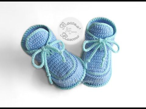 93fec28ef5fc Пинетки башмачки крючком - YouTube. Crocheted Baby BootiesKnit Baby ShoesKnitted  BabyBaby KnittingCrochet Baby BoysHow ...