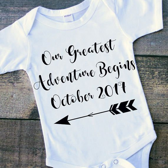 Baby announcement onesie personalized baby gift personalized baby baby announcement onesie personalized baby gift personalized negle Images