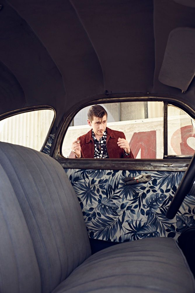 East Photographic — Fashion / Portraits, Alex Turner by Rick Guest