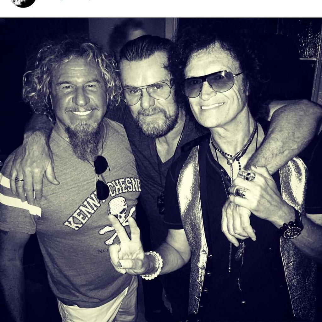 Glenn Hughes On Twitter Sammy Hagar Hughes Duffy