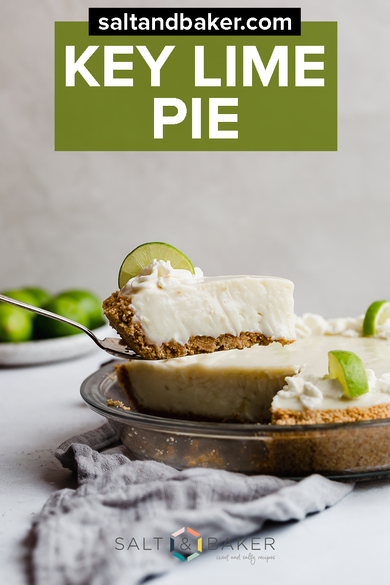 This Key Lime Pie Recipe Is Creamy Sweet And Tart The Sweetened Condensed Milk And Sour Cream Give This Authen In 2020 Cheesecake Recipes Keylime Pie Recipe Desserts
