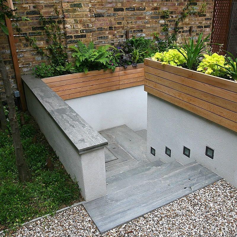 Small Gravel Garden | Garden steps