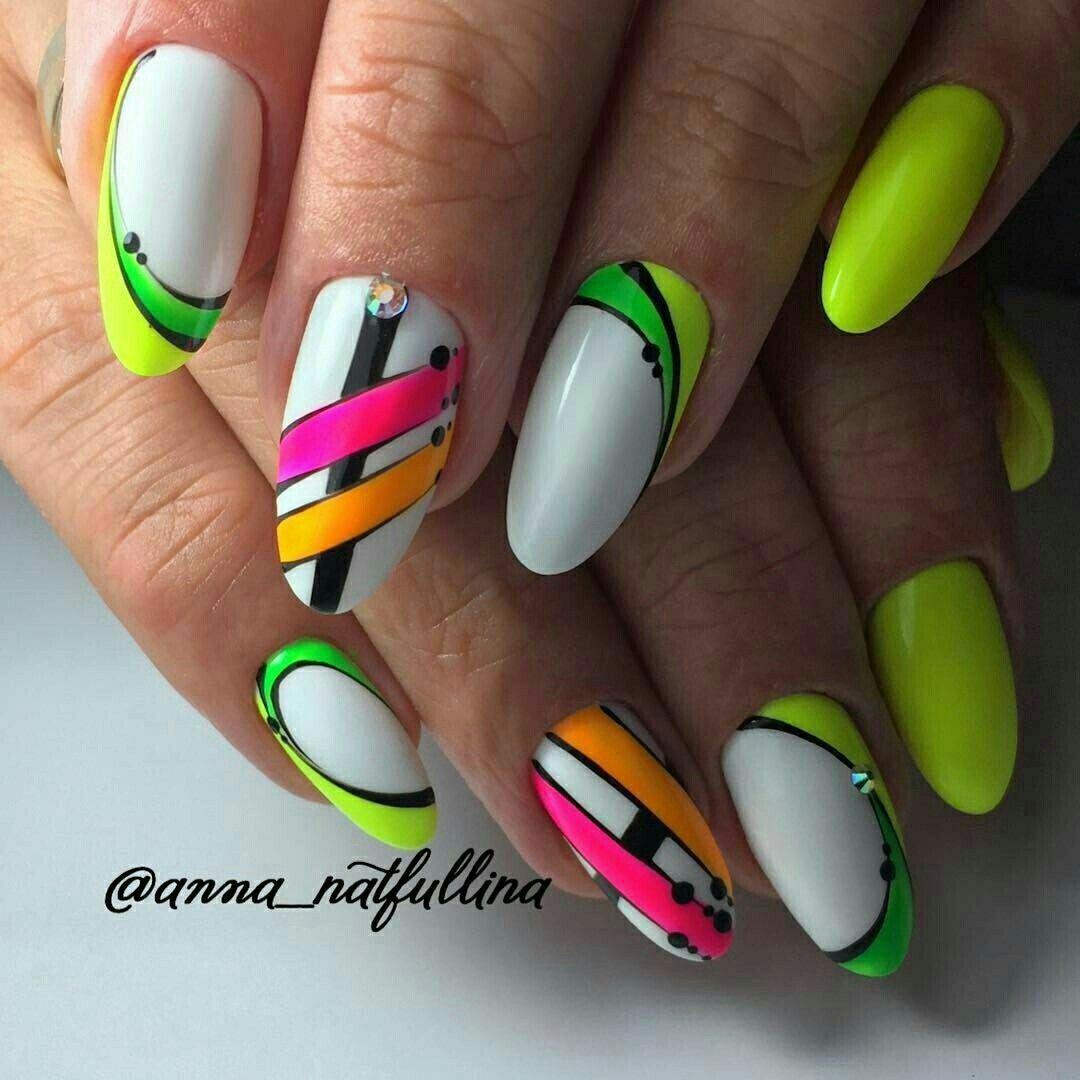 90 Perfect Nail Arts Design And Colors For Summer Yellow Nail