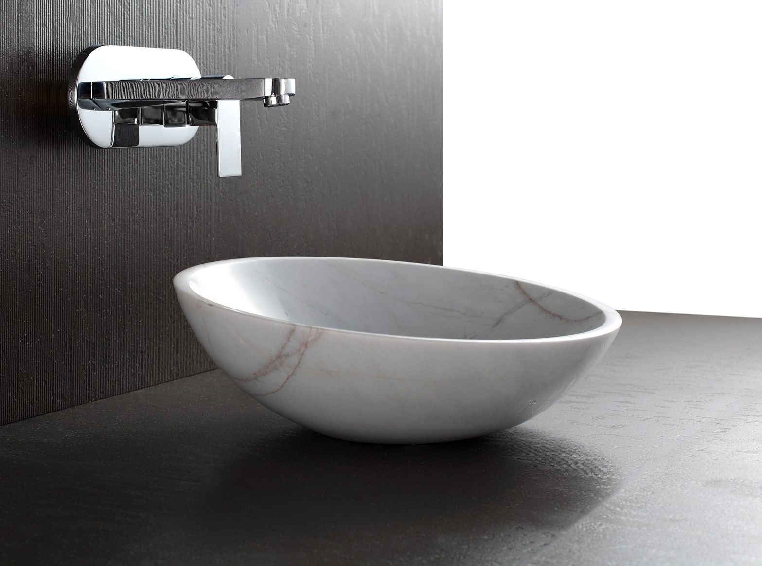 U0027Apollou0027 White Marble Basin $429. Modern Bathroom ...