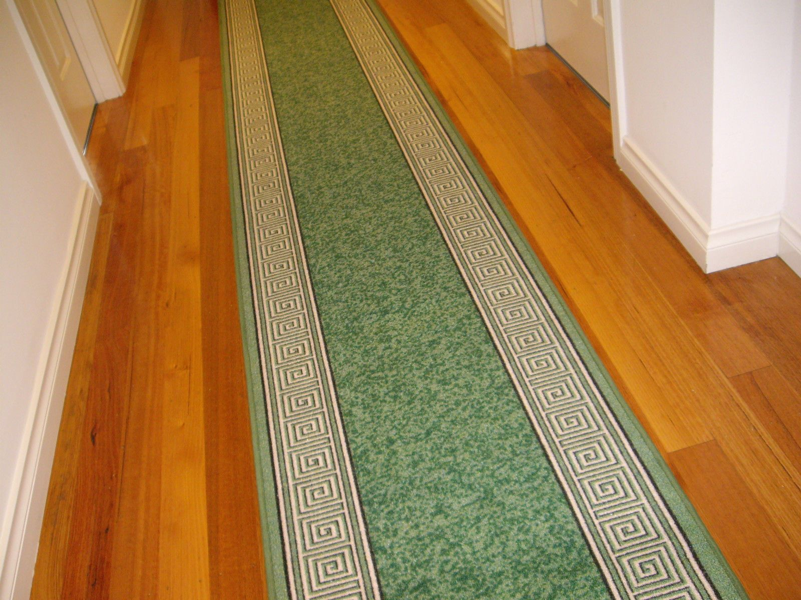 Hall Runner Floor RUG Carpet MAT Pattern Modern Design 5 Meters Long PC702 Green | eBay
