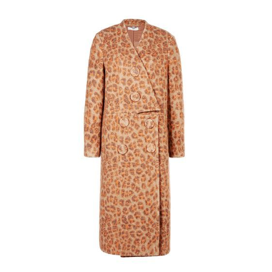 Camel Susie Coat - Stella Mccartney Official Online Store - FW 2015 - 2016