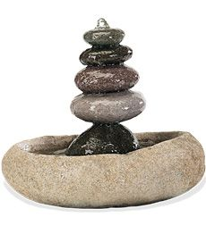 Five Stone Fountain Collection Accessories Stone Fountains
